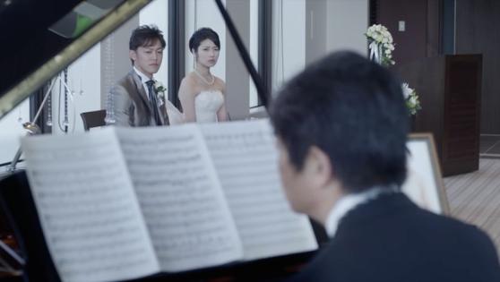結婚式サプライズビデオ風のコマーシャル映像の紹介