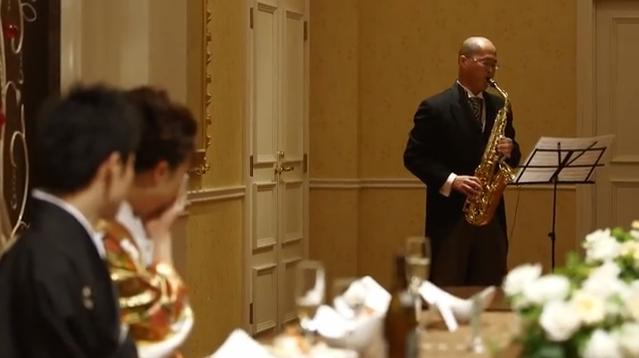 結婚披露宴サプライズムービー風のCM映像の紹介